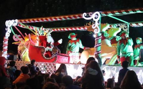 Concepción celebra la Navidad por adelantado