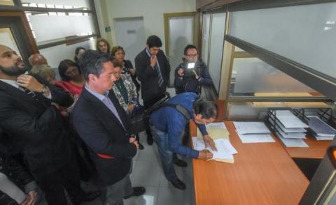 Presentan recurso legal en favor de vecinos afectados por disturbios