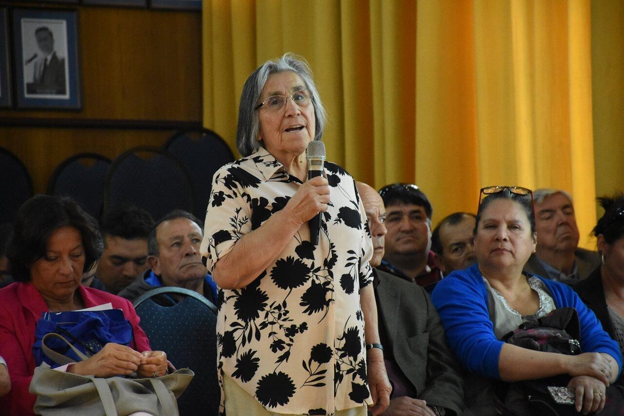 Municipio realizó nueva audiencia pública por modificación plan regulador